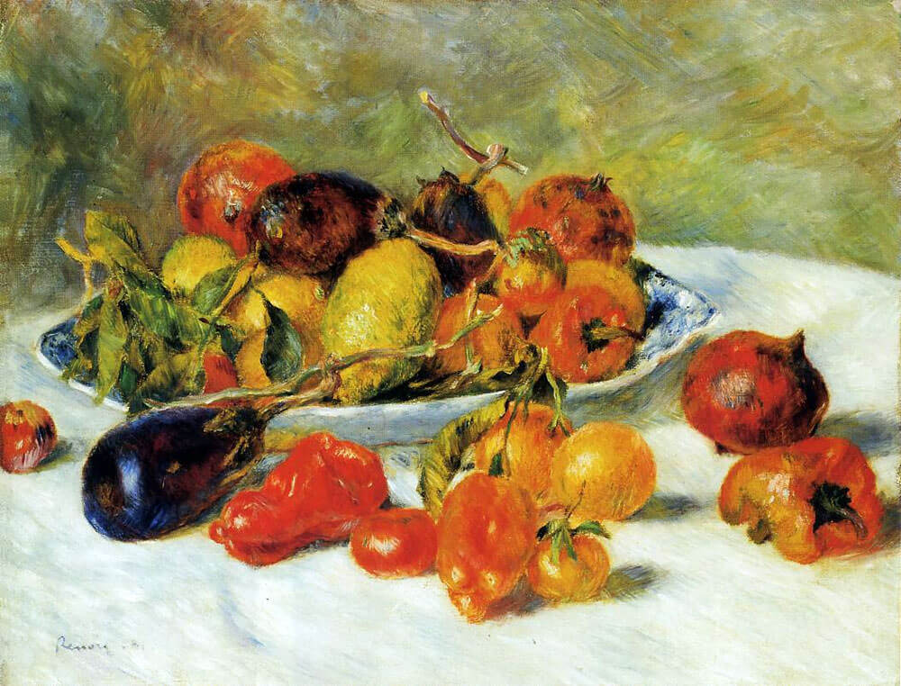 Fruits of the Midi - by Pierre-Auguste Renoir
